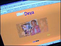 Archbishop Deya's website