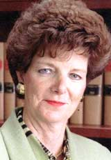 Judge Lyse Lemieux, shown in a 1996 file photo, announced Thursday that she is retiring chief justice of the Quebec Superior Court after a drunk-driving incident. CP files