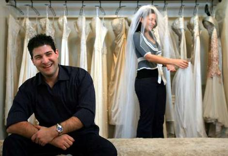 Heading for the altar: Jim Skigopoulos and Mary Kapiniaris are